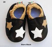 Boys Black Leather Shoes