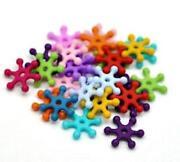 Plastic Snowflakes