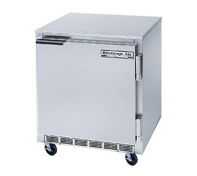 Beverage-air Ucf27ahc 7.3 Cuft Single Door Stainless Steel Undercounter Freezer