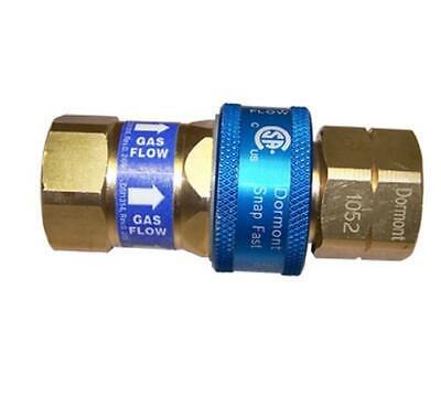 """Dormont A50R SnapFast™ 1/2"""" Quick Disconnect Gas Hose Coup"""