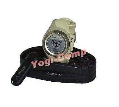 Garmin Forerunner 405 Green Gps Watch W  Heart Rate Monitor   Usb Ant