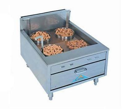 Comstock Castle Ts2923sf Funnel Cake Donut Doughnut Gas Fryer 30lb Floor Model