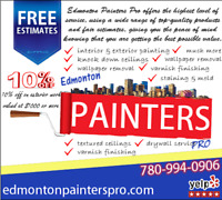 |Red Deer Painting Services  - Stain & Mold Treatment- MORE!