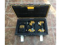 DeWalt DCK285M2 Combi + Impact Drills 18v w/ 2x 4ah Batteries + Charger