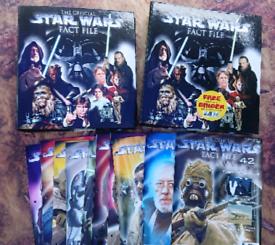 Star Wars Fact File magazines