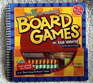 NEW - Klutz Book: The 15 Greatest Board Games in the World Kingston Kingston Area image 1