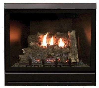Clean Face Deluxe 36 inch DV Fireplace DVCD36FP30N - Natural
