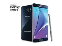 SAMSUNG GALAXY NOTE 5,BRAND NEW,GRADE A+++