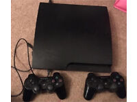 PS3 2 controllers and 3 games!!