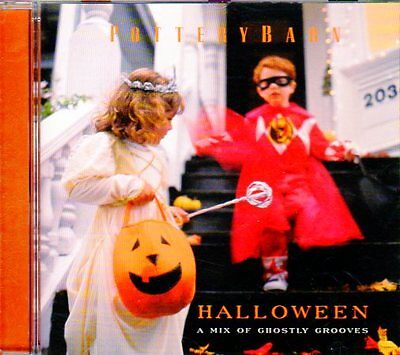 Pottery Barn HALLOWEEN: A MIX OF GHOSTLY GROOVES & SPOOKY SOUNDS PARTY MUSIC CD!](Halloween Music Mixes)