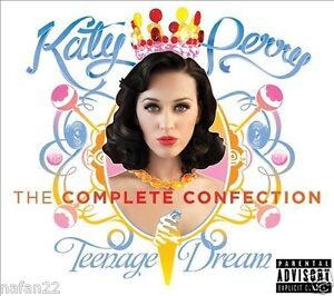 Katy-Perry-Teenage-Dream-CD-THE-COMPLETE-CONFECTION-Feat-Snoop-Dogg-NEW