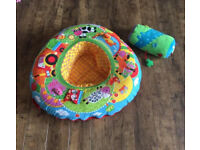 Baby nest and tummy time roller