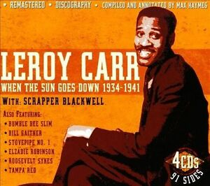 LEROY CARR - When the Sun Goes Down 1934-41..4 CD BOX SET..NEW & SEALED   CD494