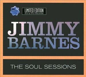 JIMMY-BARNES-The-Soul-Sessions-2CD-DVD-NEW-Soul-Deep-Soul-Deeper-Live-Basement