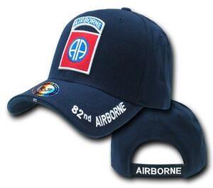 82nd-Airborne-Division-ALL-AMERICA-US-Army-BASEBALL-TAPPO-Militare-Cappello