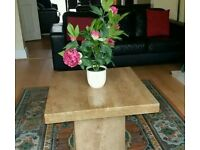 Marble coffee table excellent condition