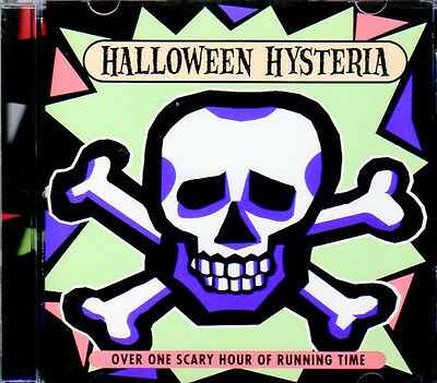HALLOWEEN HYSTERIA: VINTAGE K-TEL SCARY STORIES, SPOOKY MUSIC & SOUND EFFECTS CD](Children's Spooky Halloween Music)