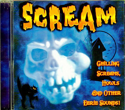 SCREAM Chilling Screams, Howls & Other Eerie HALLOWEEN Music & Sound Effects NEW