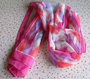 2 Silk Type Scarves