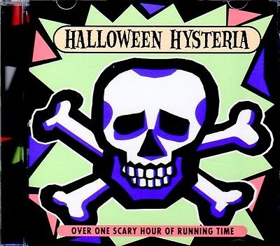 HALLOWEEN HYSTERIA: VINTAGE K-TEL SCARY STORIES, SPOOKY MUSIC & SOUND EFFECTS - Scary Halloween Rock Music