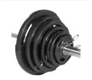 300 Pound Olympic Grip Weight set.