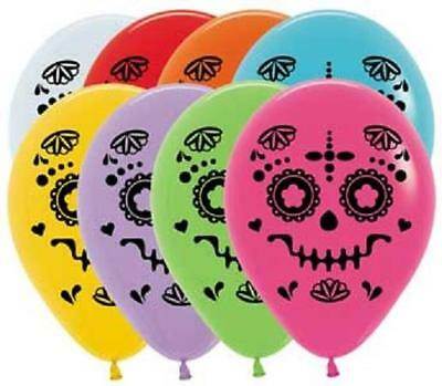 Pack of 25 Sugar Skull Multi Color 11