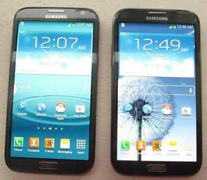 2 FACTORY UNLOCKED GALAXY NOTE 2 LIKE NEW