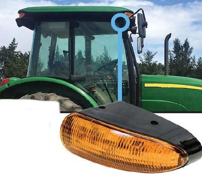 Fits John Deere 5e-9030 Series Tractor Led Amber Cab Corner Light Qty 1 2748
