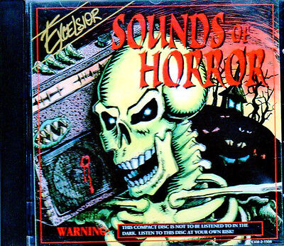 Sound Effects Halloween Sounds Of Horror (Excelsior SOUNDS OF HORROR: RARE 1994 CLASSIC HALLOWEEN SOUND EFFECTS & MUSIC)