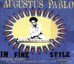 Augustus Pablo In Fine Style vinyl LP NEW sealed