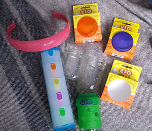 Toddler Eating Accessories-EIO Kids Cups,Plate Mate, Snack Case