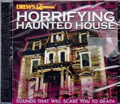 HORRIFYING HAUNTED HOUSE: SOUNDS THAT WILL SCARE YOU TO DEATH! HALLOWEEN CD! NEW](Scare Sounds)