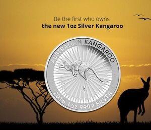 The-Australian-Kangaroo-1-oz-oncia-argento-999-Silver-silber-2016