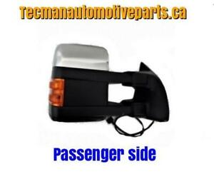 Towing mirror trailer tow mirror for Ford F250 Ford F350 Ford F450 Chrome
