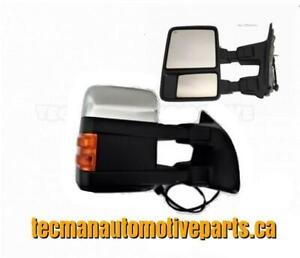 Towing mirrors trailer tow mirrors for Ford F250 F350 F350 F450 Superduty Chrome