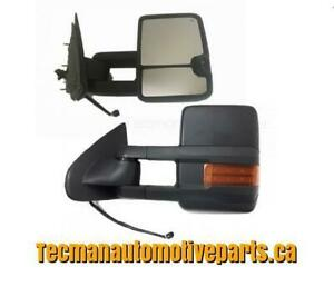 Towing mirrors Trailer tow mirrors for Chevy Silverado GMC Sierra 2014 - 2015