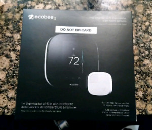 Ecobee 3 w/ original box and manuals