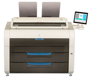 KIP 7772 Almost New Production Wide Format Printer Fully Loaded