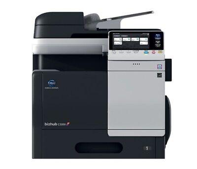 Konica Minolta Bizhub C3350 Color Copierprintscan Fax Total Meter 22k