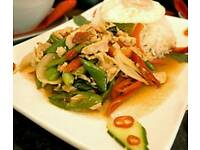 Thai chef wanted