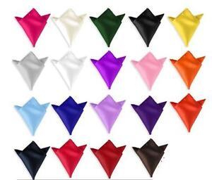 Pochette-de-costume-Carre-NEUF-handkerchief-hanky-NEW