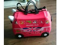 trunki kids suitcase with wheels used