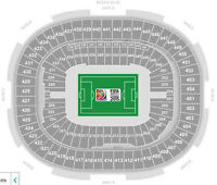 Upper and Lower Bowl tickets to Womens World Cup SOCCER FINAL