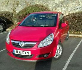 Corsa d flame red