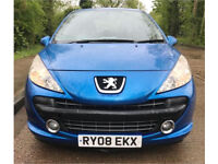 PEUGEOT 207 M PLAY 1.4 3 DR - AC- NEW MOT MAY 2019 - ONLY 2 PREV/OWNERS