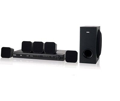 RCA RTD3276H DVD / CD 200 Watt 5.1 CH Home Theater System with Remote - Black