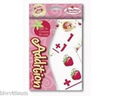 STRAWBERRY SHORTCAKE PACK OF FLASH CARDS ADDITION BIRTHDAY PARTY SUPPLIES](Cheap Birthday Party Supplies)