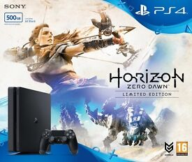 Sony Playstation 4 PS4 500GB CONSOLE - HORIZON DAWN LIMITED EDITION - BRAND NEW