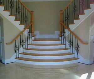 QUALITY LAMINATE AND HARDWOOD FLOORING INSTALLATIONS & STAIRS
