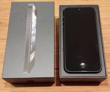 New iPhone 5 32GB Black Morley Bayswater Area Preview